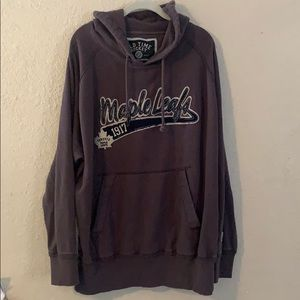 Toronto Maple Leafs Mens Pullover Hoodie Size XL